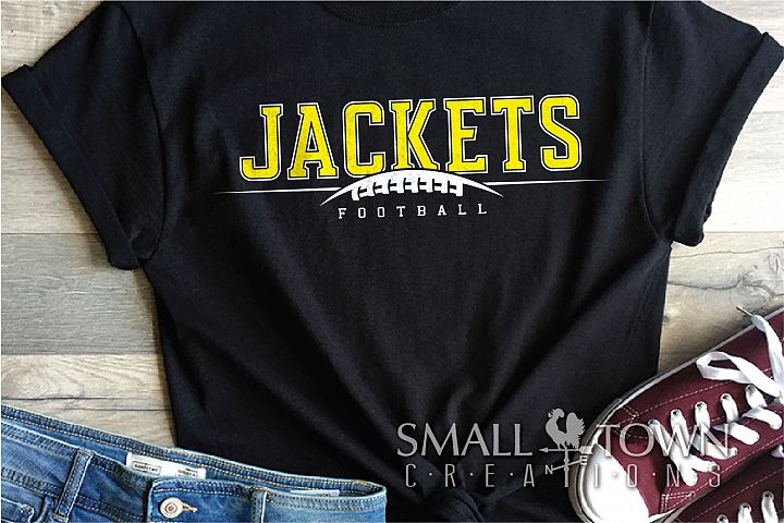 Jacket Football, Football Team, Sport, PRINT, CUT & DESIGN
