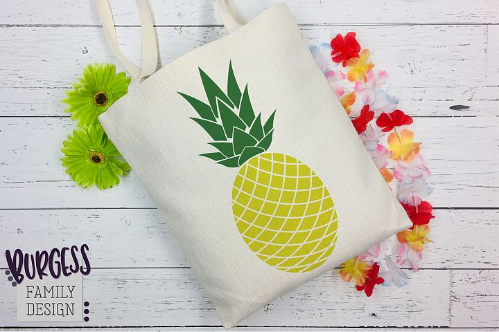 Pineapple Clipart | SVG DXF EPS PNG