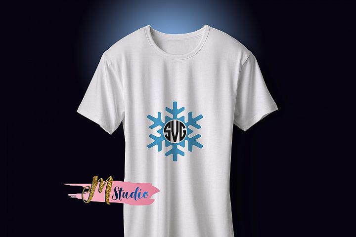 Snowflake svg, for Silhouette Cameo or Cricut example 2