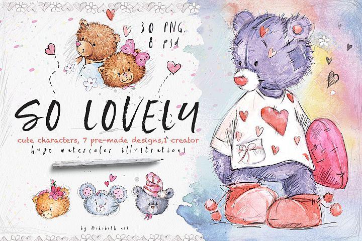 So Lovely valentines