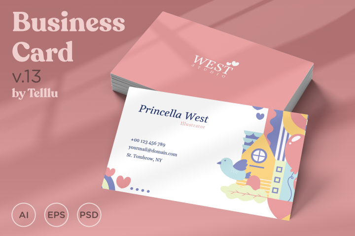 Business Card Template v13