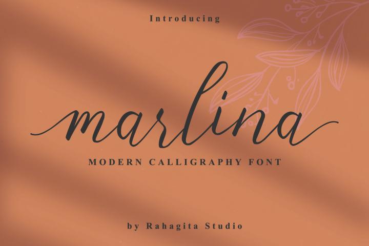 Marlina - Modern Calligraphy Font