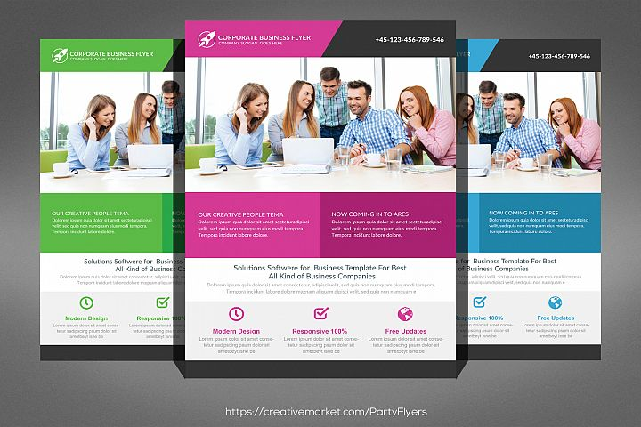 Consult Business Flyer
