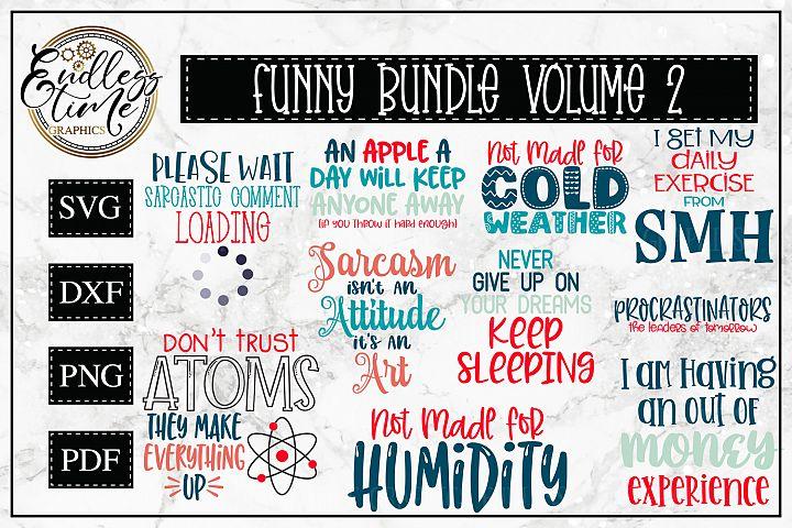 Funny Bundle Volume II - A Humorous Little SVG Bundle