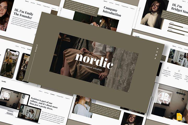 Nordic - Google Slides Template