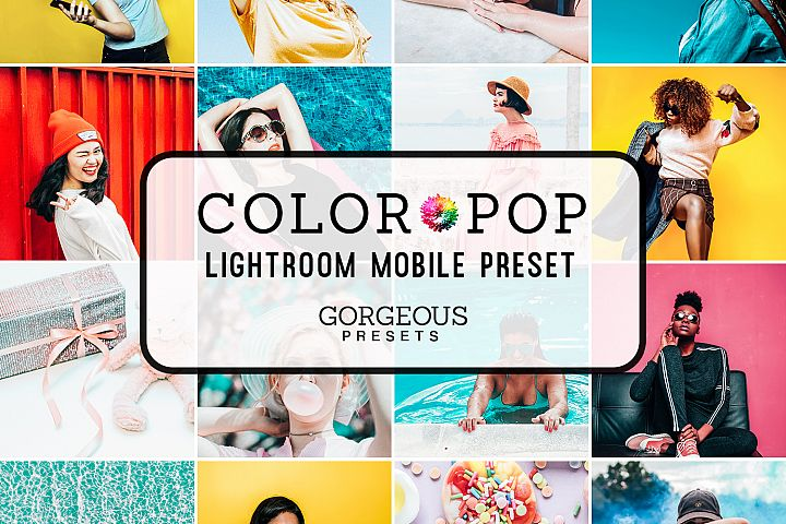 Mobile Lightroom Preset COLOR POP