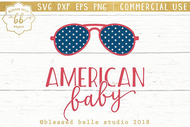 American Baby SVG + DXF + EPS + PNG