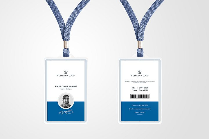 ID Card Template 01