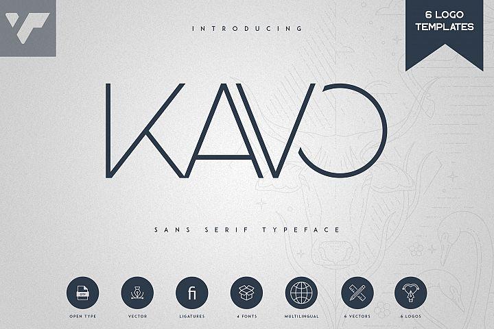 Kavo Sans Serif 6 Logo Templates