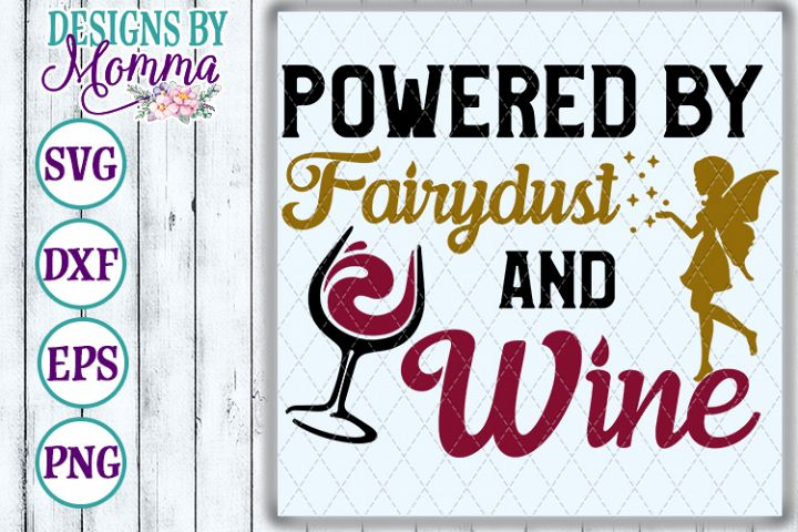 Powered by Fairydust and Wine SVG