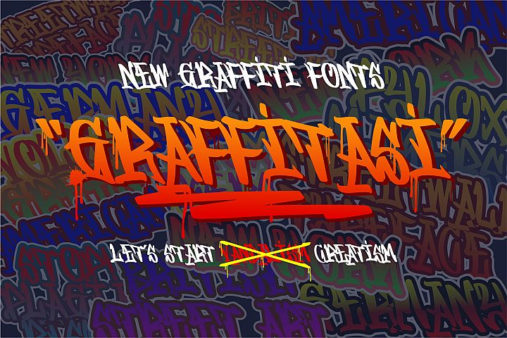 GRAFFITASI - Street Fonts