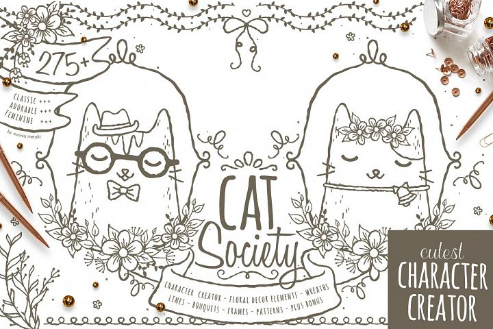 Cat Society - Cutest Character Creator