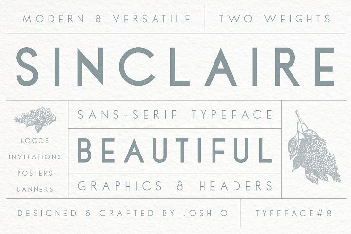 Sinclaire | A Classic Sans Serif