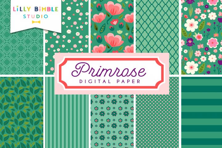 Primrose Digital Paper