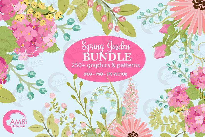Spring Garden Floral Mega Bundle AMB-2382