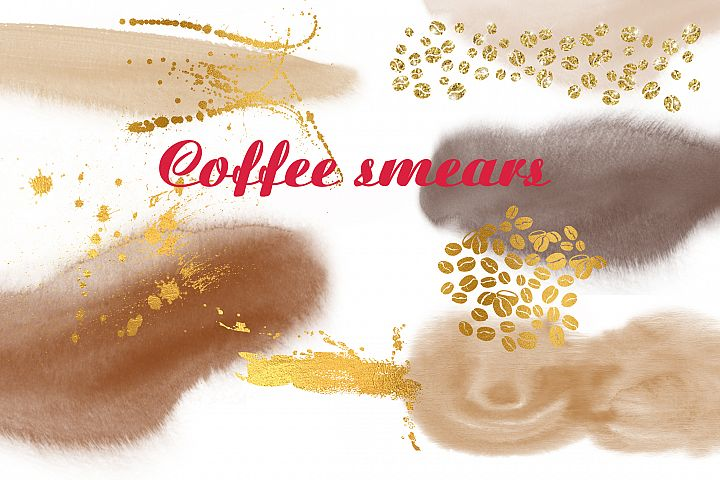 Coffee smears