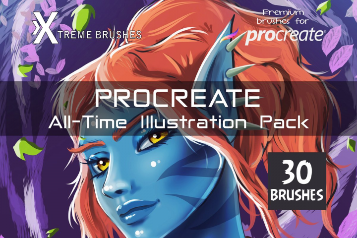 Procreate All-Time Illustration Pack