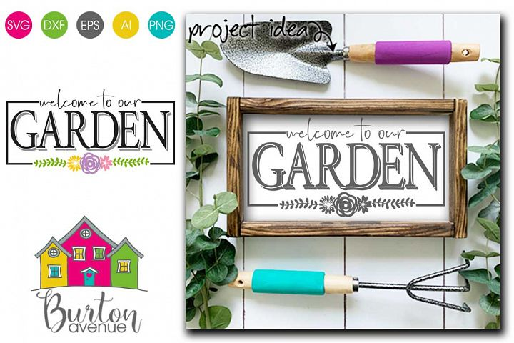 Welcome to our Garden SVG file for Spring