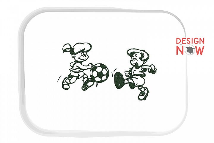 Soccer Embroidery Design, Sport Embroidery Pattern