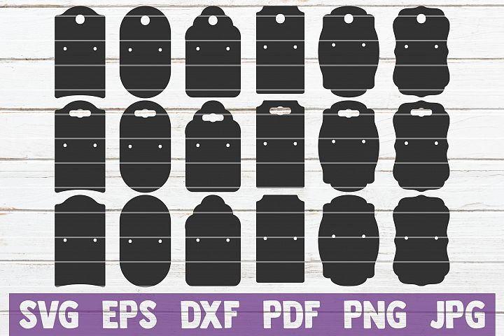 Earring Display Cards SVG Bundle, SVG Cut Files