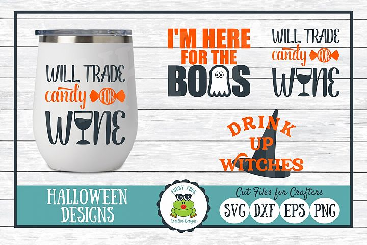 Halloween Design Bundle - SVG Cut Files for Crafters