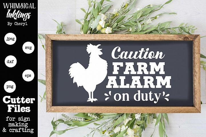 Farm Alarm SVG