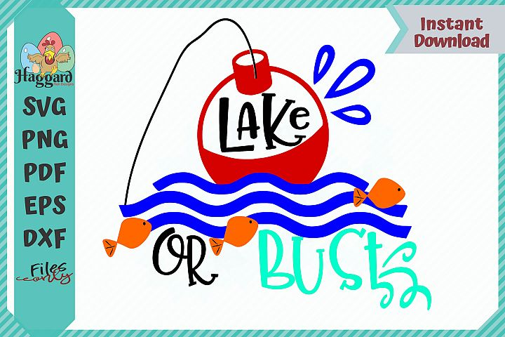 HHD Lake or Bust SVG