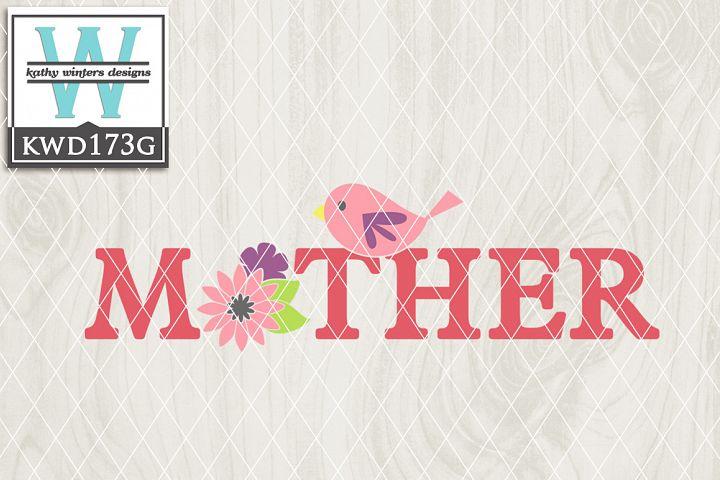 Mothers Cutting File KWD173G