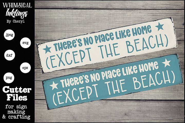 Except The Beach SVG