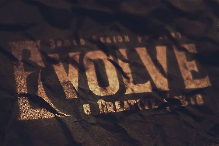 Evolve - Vintage Style Font example image 5