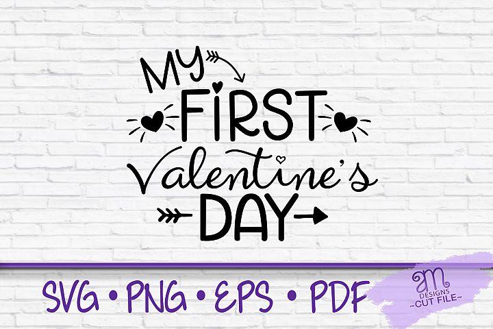 first Valentines Day, valentines day svg, first svg