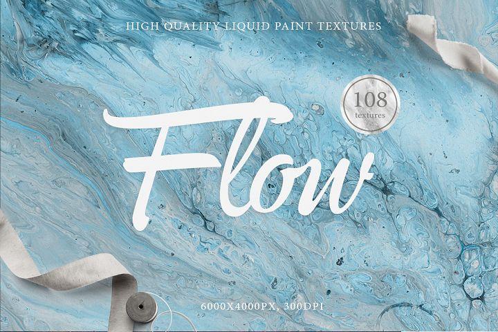 108 Flow Liquid Textures