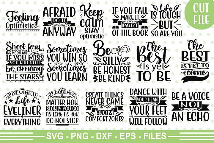 18 Motivational Quotes SVG Pack_1
