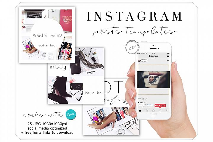 Lady Luck Instagram Posts Templates