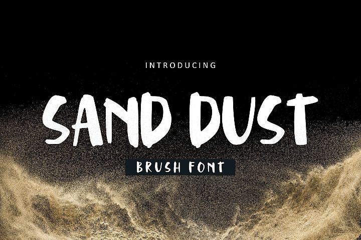 Sand Dust Font