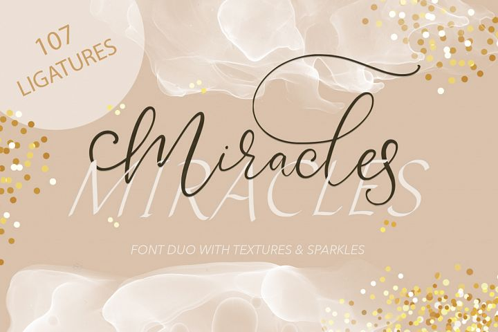 Miracles Duo Font.