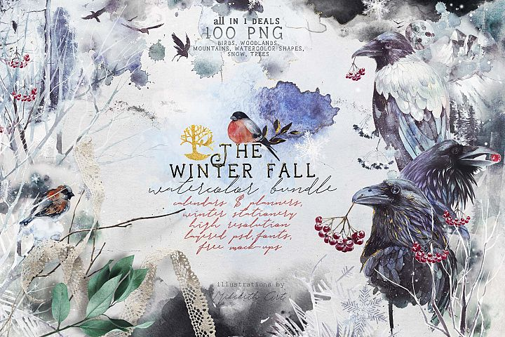 The Winter fall bundle 2 in 1