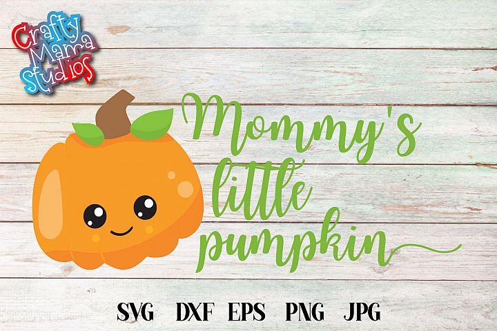 Mommys Little Pumpkin SVG Sublimation, Halloween SVG