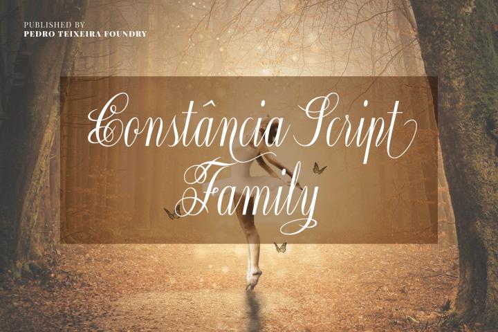 Constância Script Family