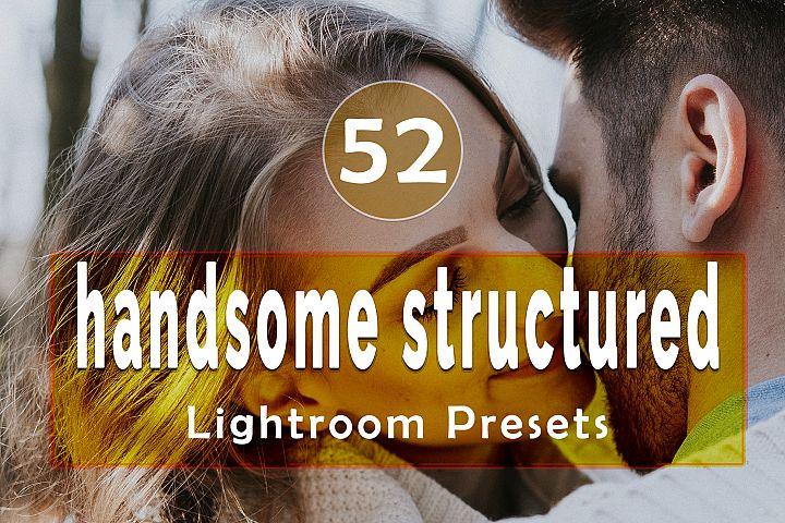 handsome structured Lightroom Presets