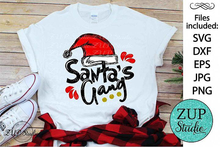 Santas gang SVG Design Cutting Files 317