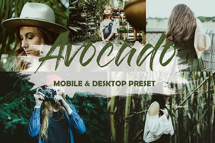 5 Mobile and Desktop Lightroom Presets Avocado