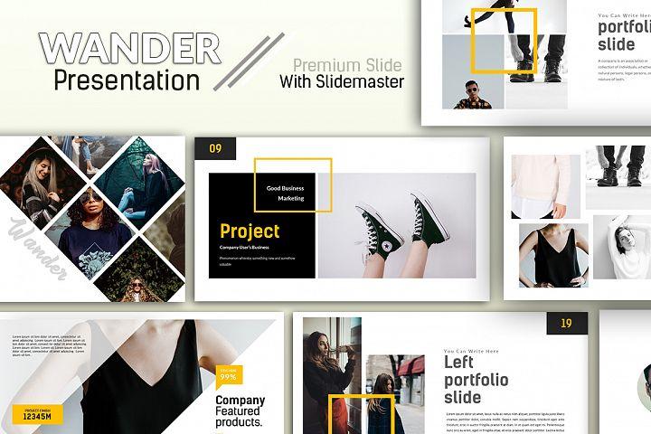 Wander Premium Powerpoint