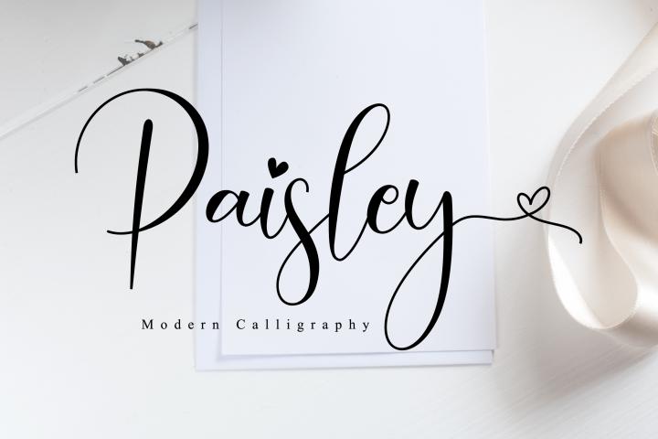 Paisley Script