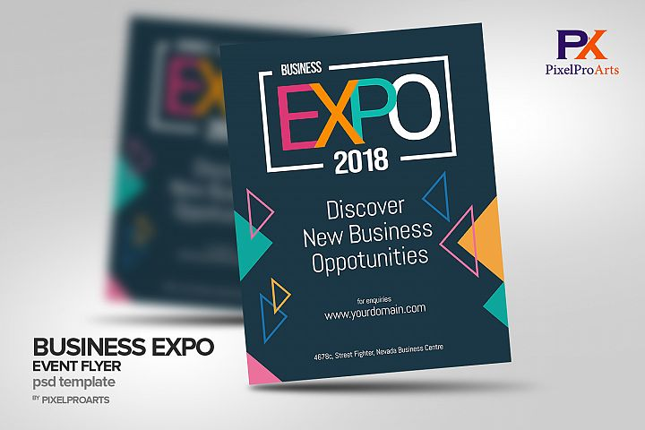 Business Expo Event Flyer Poster Template