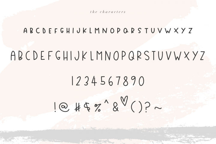 Country Market - A Handwritten Display Font - Free Font of The Week Design 3