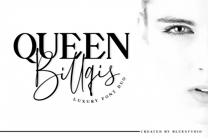 Queen Billqis //Luxury Font Duo