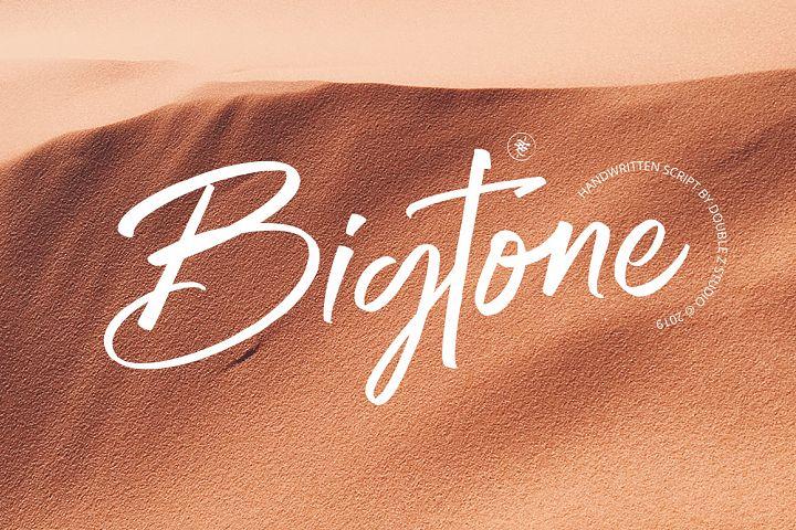 Bigtone Script