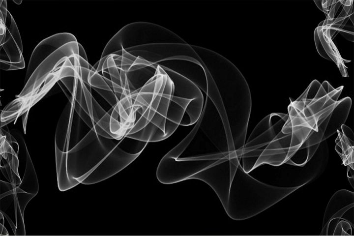 White Smoke background