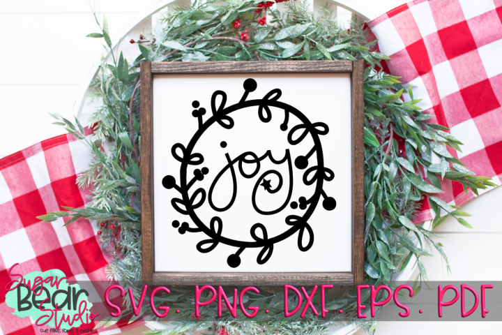 Joy - A Christmas SVG